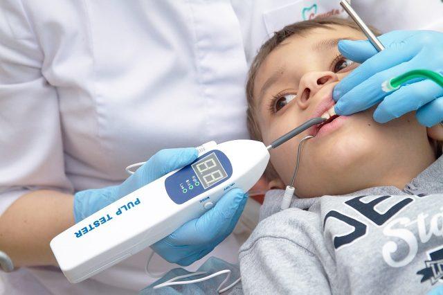 ЭОД (Электроодонтодиагностика) в стоматологии - определение состояния нервных элементов пульпы зуба